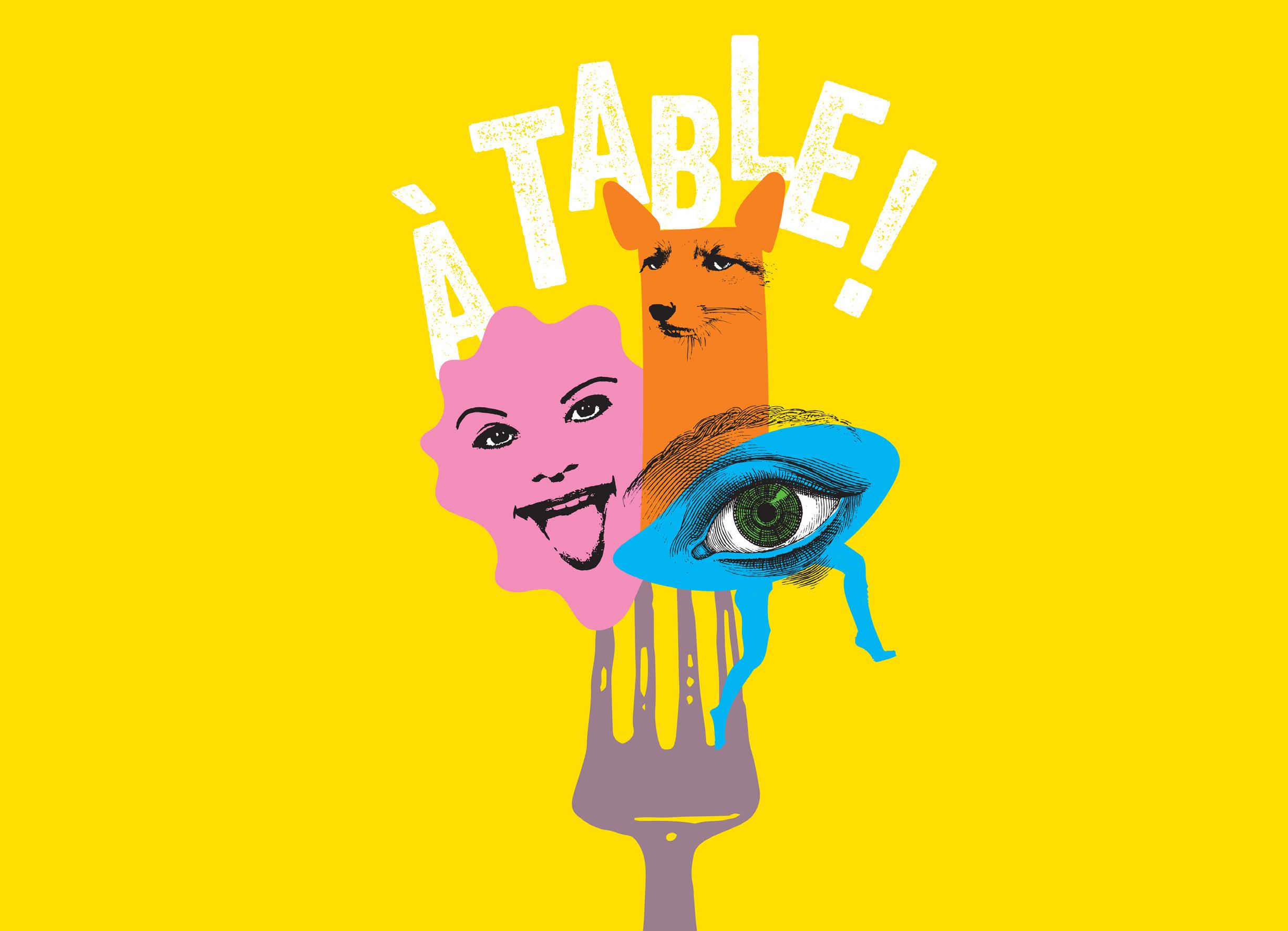 A table - Marionnettes